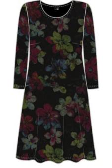 Cotonel klänning Velvet flower