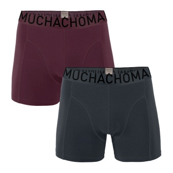 Muchachomalo Herrkalsonger boxer 2-pack Solid
