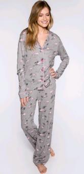 PJ Pyjamasset med fin sovmask