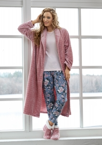 Damella Fleece Jaquard rock