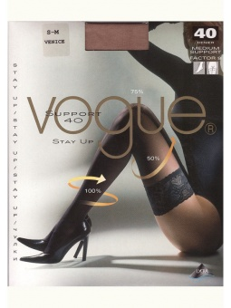 Vogue Support 40 den Stay up