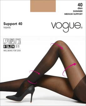 Vogue Support 40 den strumpbyxa