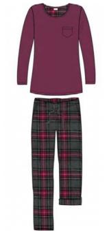 Damella Pyjamas med flanellbyxa