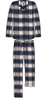 Damella Flanell Pyjamas