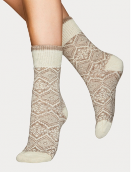 Vogue socka haze wool