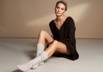 Vogue Cashmere Knästrumpa