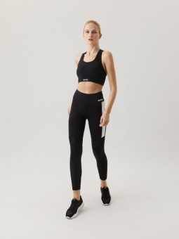 Björn Borg High waist block tights svart