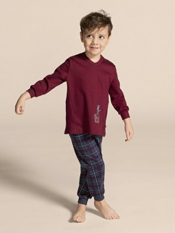 Calida Pyjamas Toddlers rumba red