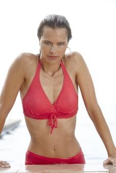 Damella Bikinibh korall eller kornblå