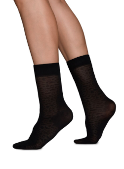 Swedish Stockings Emma Leopard socka