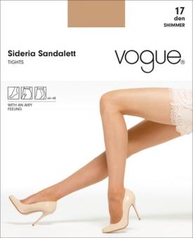 Sideria Sandalett Strumpbyxa