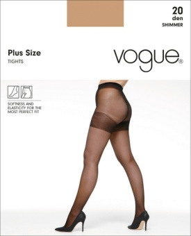 Vogue Plus Size strumpbyxa i 20 den