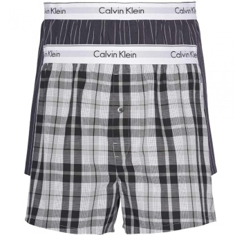 Calvin Klein Modern Cotton Stretch Slim Fit Boxer 2 pack