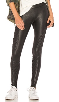Spanx leggings Moto faux leather