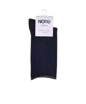 Note Bamboo Lurex socka