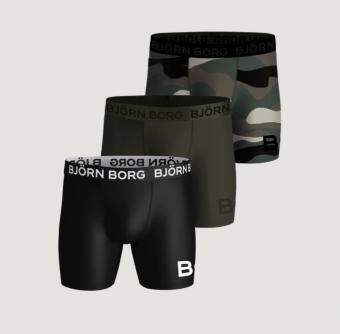 Björn Borg Performance 3-pack Herr High Function