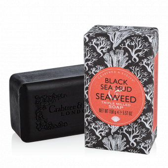 Crabtree & Evelyn Black Sea Mud tvål