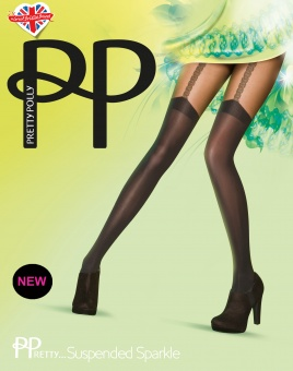 Pretty Polly Suspended Sparkle