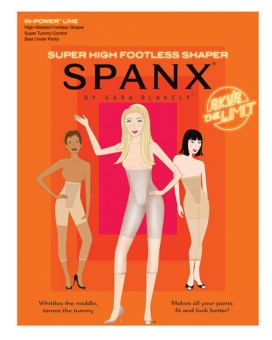 Spanx super High footless shaper