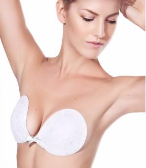 Freebra Lux white strapless bra