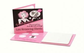 Hollywood fashion secrets - No 10 Lint removing sheets