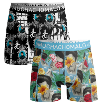 Muchachomalo 2-pack Boxer Herrkalsong King of Rock Roll