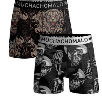 Muchachomalo Herrkalsonger 2-pack King of the jungle