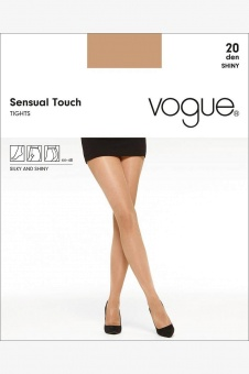 Vogue Sensual Touch 20 den shiny