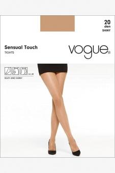 Vogue Sensual Touch 20 den shiny