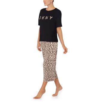 DKNY Cool Top & Capri sleep set
