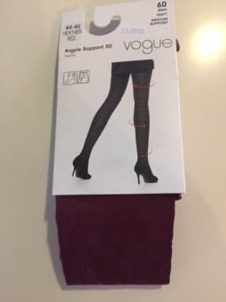 Vogue Strumpbyxa Argyle Support 3D