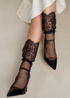 Vogue Sheryl Tulle socks