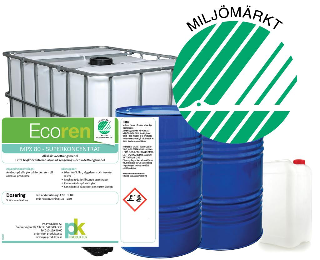 Ecoren MPX-80 Superkoncentrat 10 L dunk