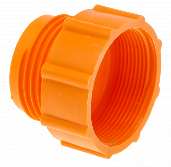 Gängadapter, orange
