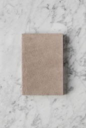 Suede Notebook Small Nude