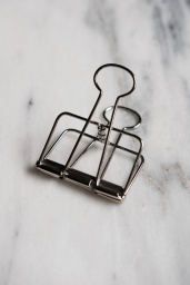 Binder Clip Silver