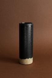 Vase Slim High Black