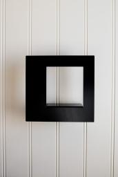 Tavelram Frame Square Svart