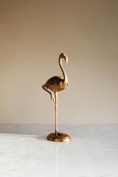 Brass Flamingo Box