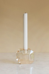 Diamond Crystal Candle Holder