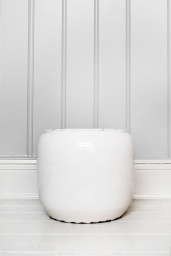 Custa Pot White Small