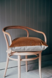 Eclectic Cushion Caramel