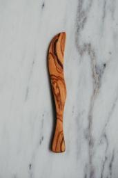 Smörkniv Olivträ