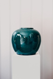 Clay Pot Green No3