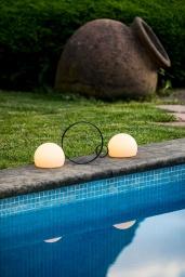 Circ Table Lamp M-3727X Black