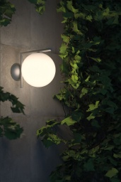 FLOS Ceiling/Wall IC Light Outdoor L Black