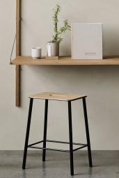 Frama Studio Stool Svart/Ek