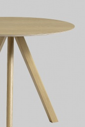 HAY Table CPH20 Oak Ø90