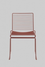 Hee Dining Chair Red Rust