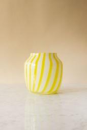 Juice Vase Wide Yellow